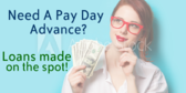 Pay Day Advance Loan