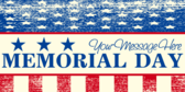 Generic Memorial Day Message