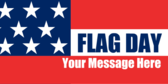 Flag Day With Generic Message