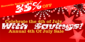 Celebrate the 4th With Savings
