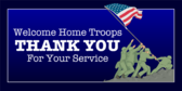 Welcome Home Troops Thank You For Service