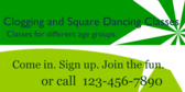 Clogging and Square Dancing Classes