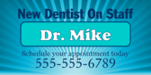 New Dentist On Staff
