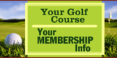 Golf Course with Membership Info