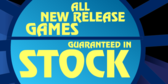 New Release Games in Stock