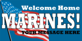 Generic Welcome Home Marines
