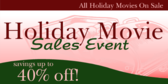 Holiday Movie Sale