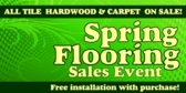 Spring Flooring Sales Event