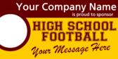 Generic Football Sponsor