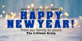 Wishing Our Customers a Happy New Year
