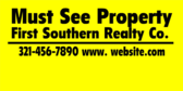 commercial real estate property management signs