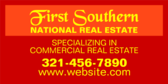 Specializing in Commercial Real Estate Sunset Grad