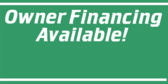 Owner Financing Info