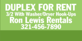 Duplex for Rent Green