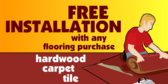 Free Installation On Flooring!