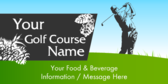 Golf Course Food And Beverage Information