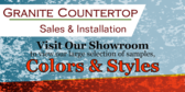Granite Countertop Sales And Installation