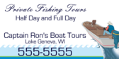 Private Fishing Tours