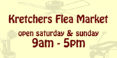 Flea Market Weekend Hours