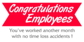 Congratulations Employees