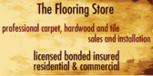 Flooring Store Sales and Installation