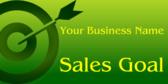 Company Sales Goal