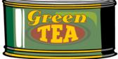 Green Tea Tin