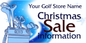 Golf Club Christmas Sale