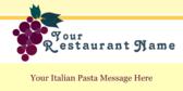 Italian Restaurant Pasta