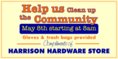 Help Us Clean Up The Community