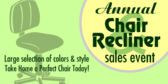 Annual Chair Sale