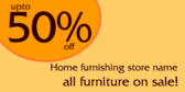 50% Off Home Furnishing