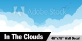 "48"" X 78"" Clouds Wallpaper"