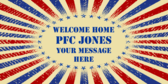 Welcome Home PFC Jones