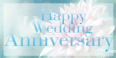 Happy Wedding Anniversary!