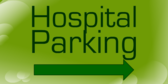 Hospital Parking Arrow