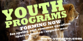 Zoo Youth Program Forming Now