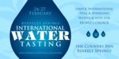 International Water Tasting
