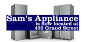 Appliance Store Moving