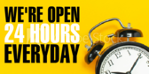 Open Every Day All Day