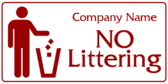 Company Name No Littering