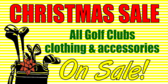 Golf Christmas Sale