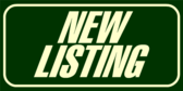 New Listing Banner