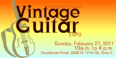 Annual Vintage Guitar Expo