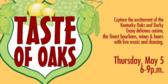 Annual Taste of Oaks