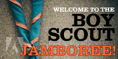 Boy Scout Jamboree Campfire