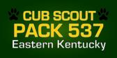 Cub Scout Pack ID Paw Print