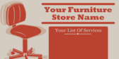 Your Furniture Store List Of Services