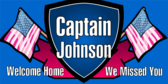Welcome Home Captain Badge