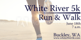 Annual White River 5k Run & Walk